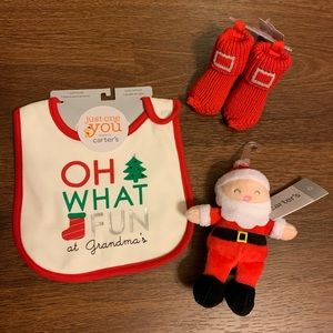 Carter's Baby's First Christmas Bundle